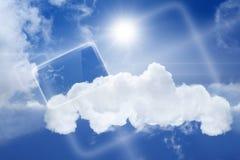 Abstracte tabletPC stock illustratie