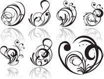 Abstracte tatoegering Royalty-vrije Stock Foto's