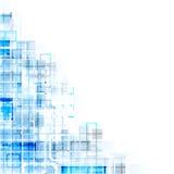 Abstracte Technische Achtergrond Stock Foto's