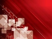 Abstracte technologie als achtergrond Royalty-vrije Stock Afbeelding