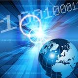 Abstracte technologie backgound Stock Foto's