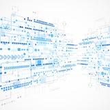 Abstracte technologie bedrijfsmalplaatjeachtergrond Stock Afbeeldingen