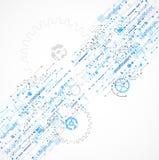 Abstracte technologie bedrijfsmalplaatjeachtergrond Royalty-vrije Stock Fotografie