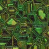 Abstracte technologie en techniekachtergronden Stock Foto's