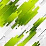 Abstracte technologie geometrische vectorachtergrond Stock Fotografie