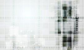 Abstracte technologie vectorachtergrond royalty-vrije illustratie