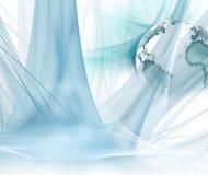 Abstracte technologieachtergrond Royalty-vrije Stock Afbeeldingen