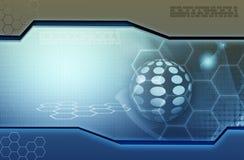 Abstracte technologieachtergrond vector illustratie