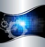 Abstracte technologieachtergrond Royalty-vrije Stock Afbeelding