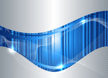 Abstracte technologieachtergrond Stock Afbeelding