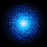 Abstracte technologieachtergrond Stock Fotografie