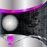 Abstracte technologieachtergrond. Stock Afbeeldingen