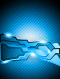 Abstracte technologieachtergrond Stock Foto's