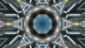 Abstracte technologieachtergrond Stock Foto