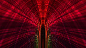 Abstracte Technologieachtergrond, Computergrafiek, Cyberspace Kabel Stock Foto