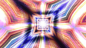 Abstracte Technologieachtergrond, Computergrafiek, Cyberspace Kabel Royalty-vrije Stock Foto's