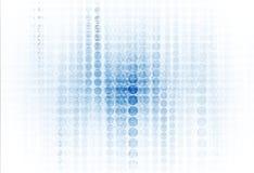 Abstracte technologieachtergrond Futuristische technologieinterface Vecto Royalty-vrije Stock Foto's