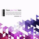 Abstracte technologieachtergrond in kleur Stock Foto