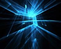 Abstracte technologieillustratie Stock Foto
