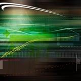 Abstracte technologielijnen royalty-vrije illustratie