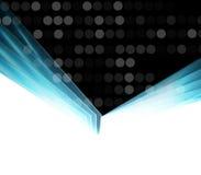 Abstracte technologiezaken als achtergrond & ontwikkelingsrichting Stock Foto's