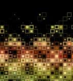 Abstracte tegelachtergrond Royalty-vrije Stock Afbeeldingen