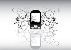 Abstracte telefoon Royalty-vrije Stock Foto