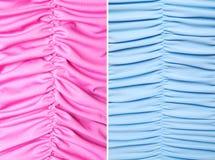 Abstracte textielgolven   Texturen Royalty-vrije Stock Foto