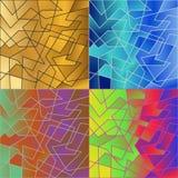 Abstracte texturen Royalty-vrije Stock Fotografie