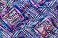 Abstracte textuur Als achtergrond in roze, wit en blauw Royalty-vrije Stock Afbeeldingen