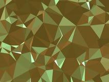 Abstracte textuur Een multicolored, mooie textuur met schaduwen en volume, dat met behulp van een gradiënt en een geometrische fi Royalty-vrije Stock Foto's