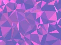 Abstracte textuur Een multicolored, mooie textuur met schaduwen en volume, dat met behulp van een gradiënt en een geometrische fi Stock Afbeeldingen