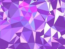 Abstracte textuur Een multicolored, mooie textuur met schaduwen en volume, dat met behulp van een gradiënt en een geometrische fi Stock Foto's