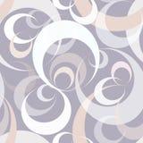 Abstracte textuur met naadloos bellenornament Royalty-vrije Stock Foto's