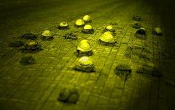 Abstracte textuur met waterdrops Stock Foto's