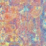 Abstracte textuur modern kunstwerk Het marmeren effect schilderen Gemengde zwart-witte verven Gouden verf Ongebruikelijke in acht stock illustratie