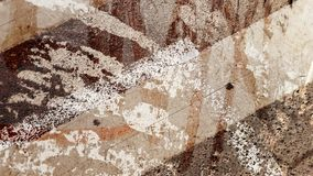 Abstracte textuur multiexpositie als achtergrond Royalty-vrije Stock Afbeelding