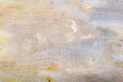 Abstracte textuur op canvas Royalty-vrije Stock Foto's