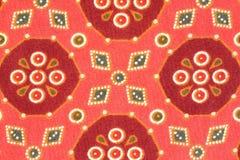 Abstracte textuur op textiel Stock Foto's