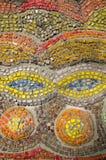 Abstracte textuur van de de glasstaaf en smalt mozaïeken Royalty-vrije Stock Foto