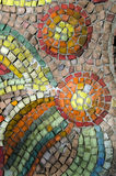 Abstracte textuur van de de glasstaaf en smalt mozaïeken Royalty-vrije Stock Afbeeldingen