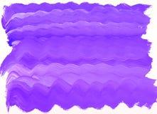 Abstracte textuur van de overzeese de borstelillustratie golven blauwe verf royalty-vrije illustratie