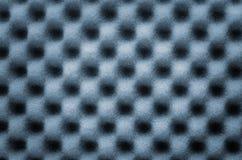 Abstracte textuur van het blauwe gebruik van de golfspons voor achtergrond of achtergrond royalty-vrije stock foto's