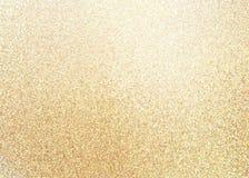 Abstracte textuur van het flikkerings de gouden zand royalty-vrije stock foto