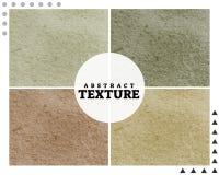 Abstracte textuur - Zand stock illustratie