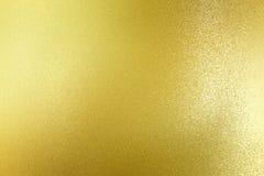 Abstracte textuurachtergrond, vuil op gouden metaalplaat royalty-vrije illustratie