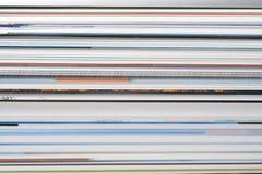 Abstracte tijdschriftpagina's Royalty-vrije Stock Afbeeldingen
