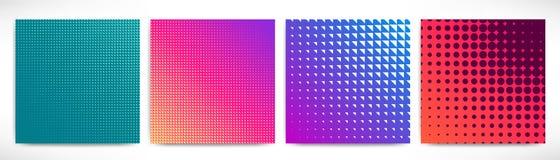 Abstracte toekomstige geplaatste achtergronden vector illustratie