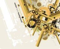 Abstracte toekomstige technologie background2 Stock Fotografie