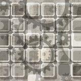 Abstracte toestellenachtergrond Royalty-vrije Stock Foto's
